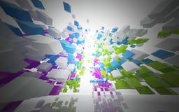 抽象结构颜色 图库摄影