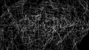 抽象结构 无缝的圈 自转2 皇族释放例证