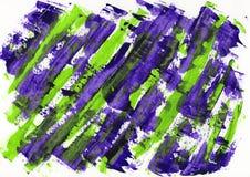 抽象绘画颜色纹理,丙烯酸酯的颜色背景,刀子 库存照片