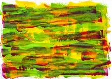 抽象绘画颜色纹理,丙烯酸酯的颜色背景,刀子 库存图片