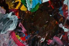 抽象绘画颜色纹理 现代未来派样式 库存图片