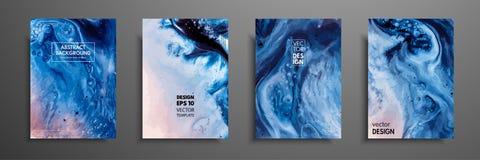抽象绘画,可以使用作为时髦背景为墙纸,海报,卡片,邀请,网站 现代 向量例证