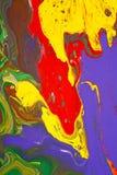 抽象绘画 图库摄影