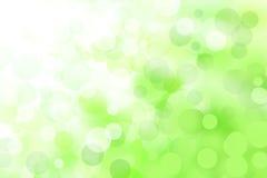 抽象绿色亮光 库存图片