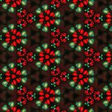 抽象绿色和红色样式背景纹理1 库存图片