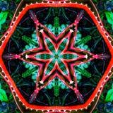 抽象绿色和红色背景样式纹理 库存图片