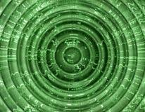 抽象绿色形状 向量例证