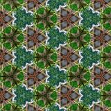 抽象绿色样式纹理1 免版税库存照片