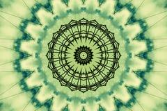 抽象绿色模式 向量例证