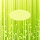 抽象绿色漩涡 库存照片