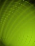 抽象绿色漩涡 免版税库存照片