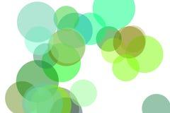 抽象绿色盘旋例证背景 库存照片