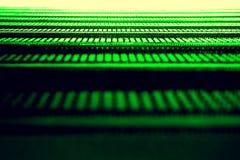 抽象绿色纹理 库存照片