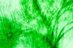 抽象绿色结构树 免版税库存图片