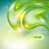 抽象绿色背景 图库摄影