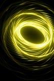抽象绿色螺旋 库存例证