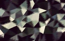 抽象绿色黑白色颜色墙纸 免版税库存照片