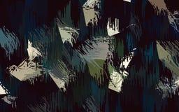 抽象绿色黑白色颜色墙纸 库存图片