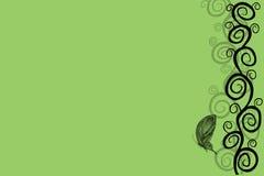 抽象绿色 免版税库存图片