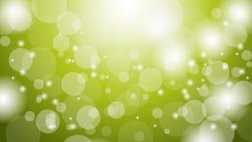 抽象绿色Bokeh背景 图表资源设计模板 发光的bokeh绿色例证 皇族释放例证
