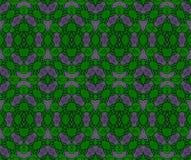 抽象网样式绿色和深灰 库存例证