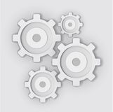抽象网络设计的例证 免版税图库摄影