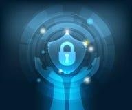 抽象网络安全技术背景 皇族释放例证