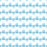 抽象美好的艺术性的嫩美妙的透明明亮的夏天蓝色斑点仿造水彩手例证 免版税库存照片