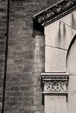 抽象老专栏在欧洲意大利和大理石国家  库存图片