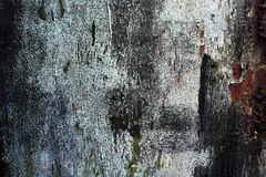 抽象老生锈的色的金属背景 免版税图库摄影