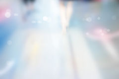 抽象背景、街道步行、柔和的淡色彩和迷离概念 库存照片