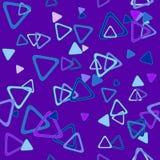 抽象背景三角 皇族释放例证