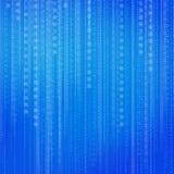 抽象背景二进制代码 免版税库存图片