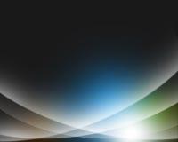 抽象背景五颜六色的发光的光 库存图片