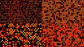 抽象背景五颜六色的四个梯度通知 免版税库存照片