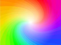 抽象背景五颜六色的模式彩虹 皇族释放例证