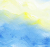 抽象背景五颜六色的水彩 免版税图库摄影