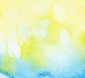 抽象背景五颜六色的水彩 库存图片