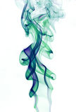 抽象背景五颜六色的烟 免版税库存图片