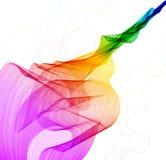 抽象背景五颜六色的通知 库存图片