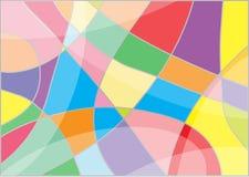 抽象背景五颜六色的马赛克 免版税库存照片