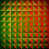 抽象背景五颜六色的马赛克 免版税图库摄影