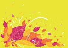 抽象背景五颜六色花卉 库存图片
