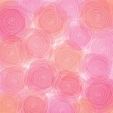 抽象背景五颜六色花卉 图库摄影