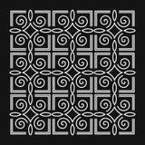 抽象背景例证简单的向量 组合图案设计元素,优美的模板 库存例证