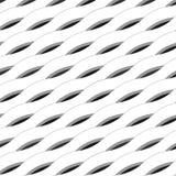 抽象背景做了波浪磁带和线 免版税库存图片