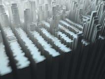 抽象背景光形状阴影 免版税库存图片