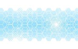 抽象背景六角形样式创新技术概念 皇族释放例证