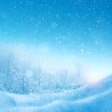 抽象背景冬天 免版税库存图片