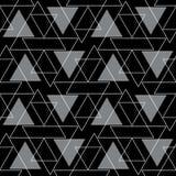 抽象背景几何无缝的样式 免版税库存图片
